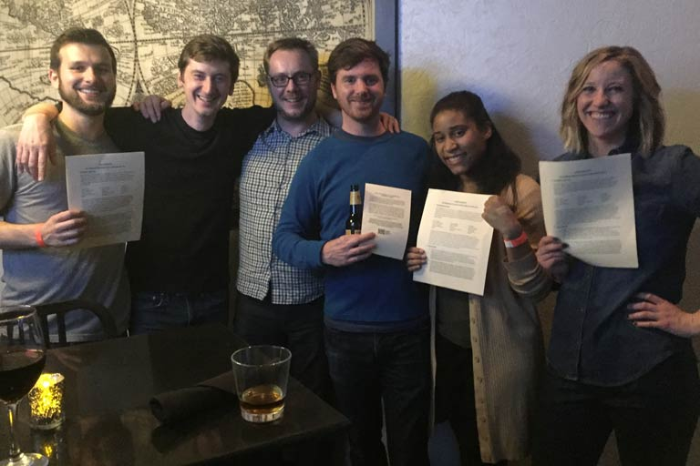 HuffPost ratifies first contract